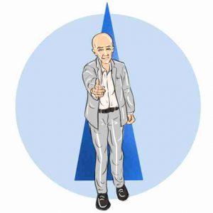 IntegralWorld- illustrations - circle icon - profile - contact